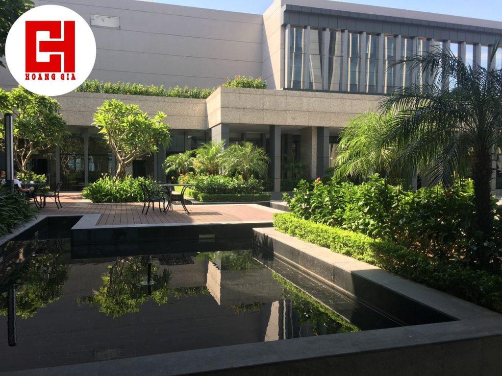 Dự án Thi công cây xanh Vinpearl Hà Tĩnh.
