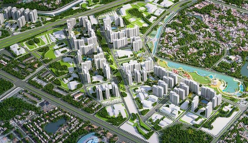 DỰ ÁN THI CÔNG CÂY XANH VINHOMES SMART CITY